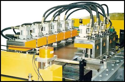 Basic Rollformer Hydraulic Punches