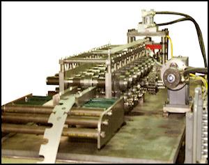 Basic Rollformer Pre-Notch Strip Feed
