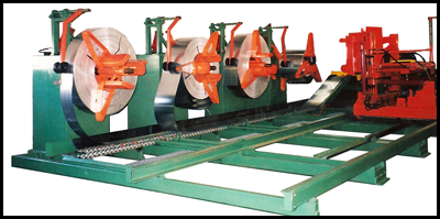 Multiple Decoilers with Coil Car