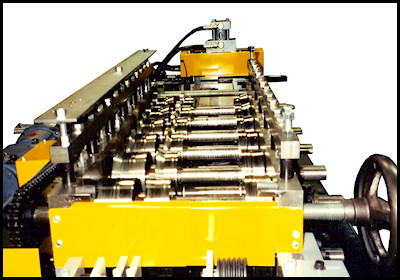 Variable Head Rollformer Roll Tooling
