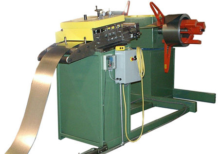 Decoiler Feeder Straightener