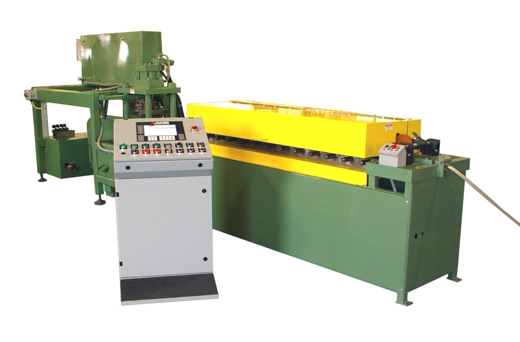 Rollformer and Cutoff Machine After