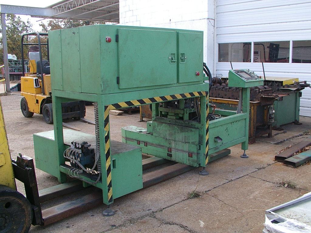Rollformer and Cutoff Machine Before