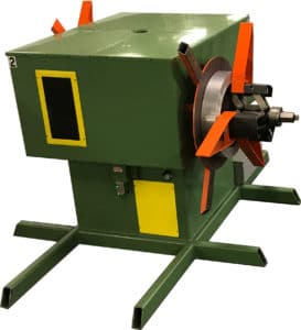 Dual Mandrel Decoiler